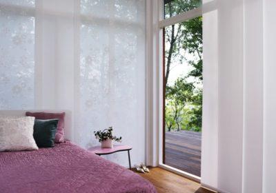 panelgardiner til soveværelse